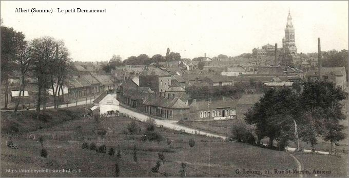 Albert (Somme), vue prise avant 1914