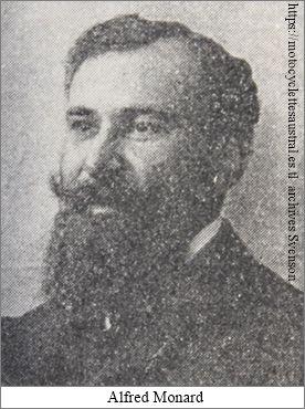 Alfred Monnard, l'un des fondateurs de la société L'Aster