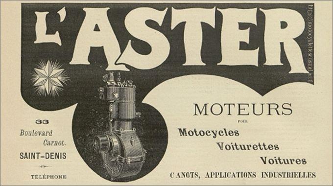 L'Aster, 1900
