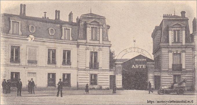usine de la société Aster, 102 rue de Paris à Saint-Denis
