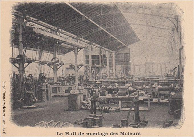 Hall de montage des moteurs Aster