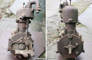 moteur industriel Austral, collection privée, Belgique