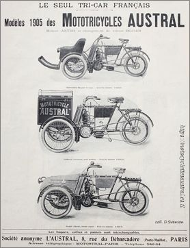 1905 pub tricar Austral