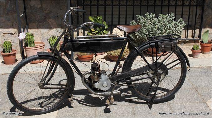 vélomoteur Austral A24, propriété des auteurs
