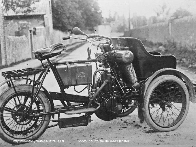 Photo d'un tricar Austral, type B série 1