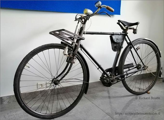 Vélo Austral pour hommes, années 1920, propriété R. Briatte