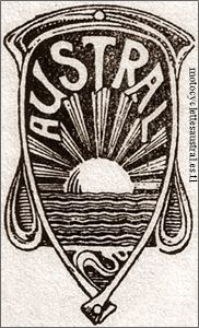 logo Austral, dessin