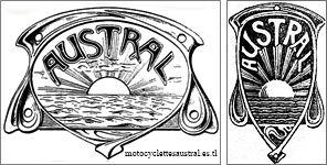 marque de fabrique Austral, 1905, dessin