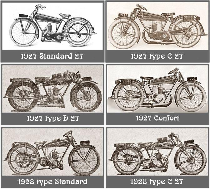 synopsis des type de motos Austral 3