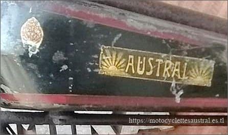 réservoir Austral GT26, décalcomanies