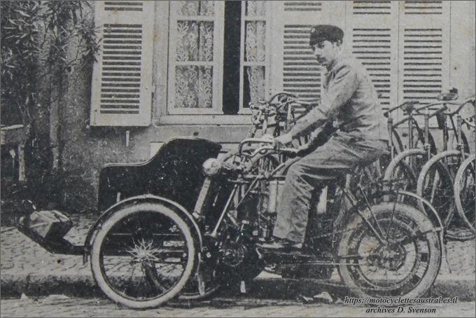 tricar Austral B-1 à Pontailler-sur-Saône