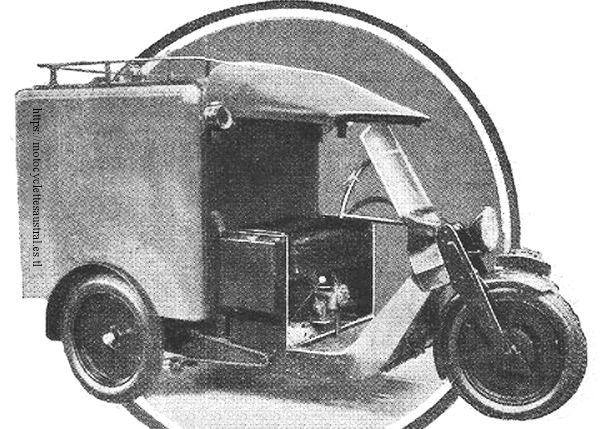camionnette trois roues Austral L2, photo