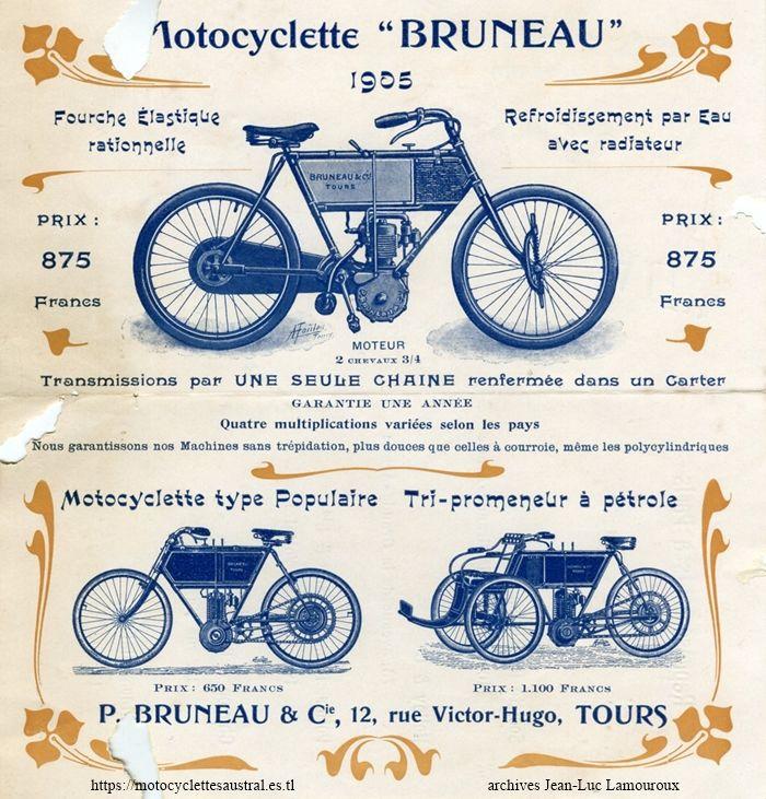 catalogue Paul Bruneau, 1905