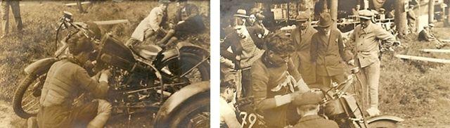 Bol d'Or 1929. Chéret sur CP Roleo