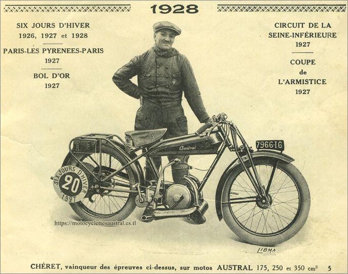 Etienne Chéret, vainqueur des six jours d'hiver 1927