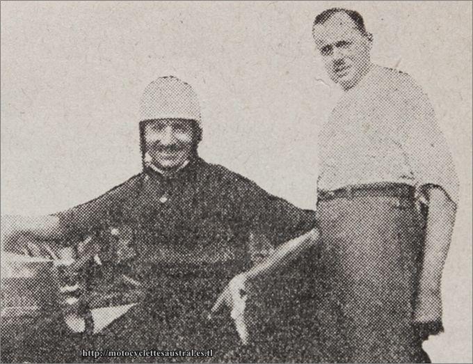 Étienne Chéret et George Staub à Aparjon en août 1930