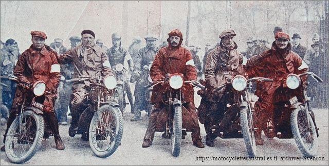1928, Six Jours d'Hiver, l'équipe Sans-Sou-Pap