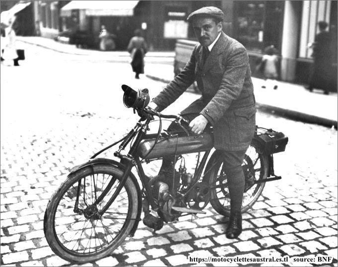 1913 Bernadou Dacier sur Austral, Paris-Tours
