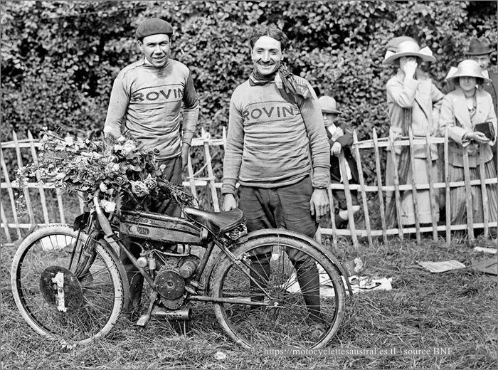 Bol d'Or 1924, Chéret sur Rovin