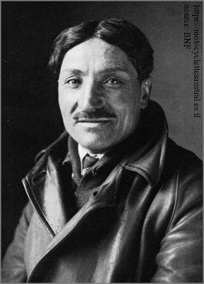 Étienne Chéret 1932 portrait