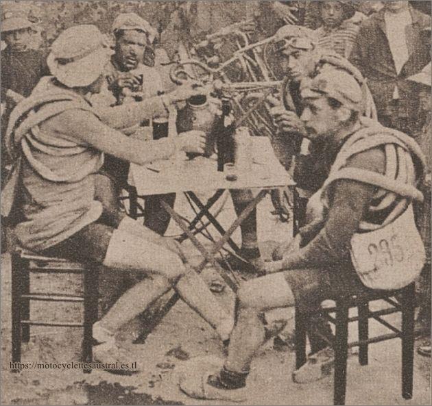 Tour de France 1924, Gatier, Di Gaetano, Martinet, Nempon