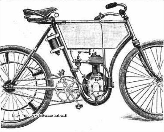 moteur de la motocyclette Hippolyte Petit