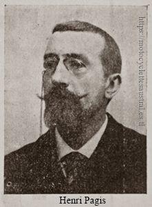 Henri Pagis, portrait