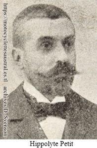 Hippolyte Petit, portrait