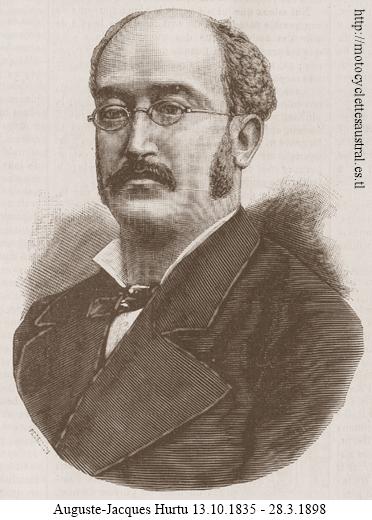 Auguste Jacques Hurtu, portrait