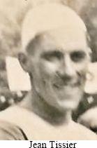 portrait du coureur cycliste Jean Tissier d'Auxerre