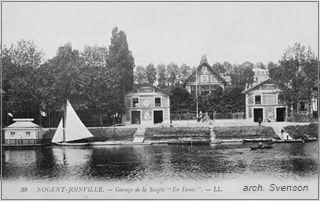 Établissement L'Horloge, Jointville-le-Pont, Garage Nautique d'Alfred Cuisinet