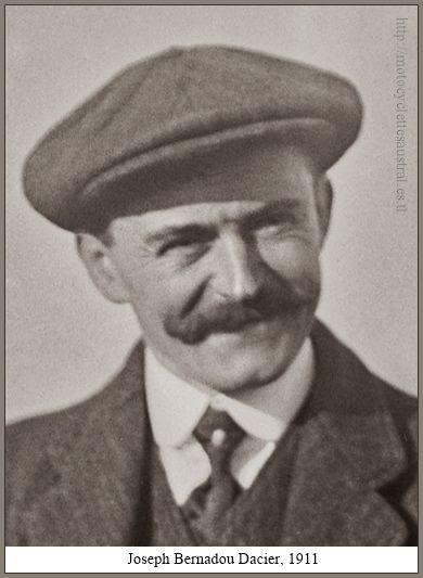 portrait de Joseph Bernadou-Dacier 1911