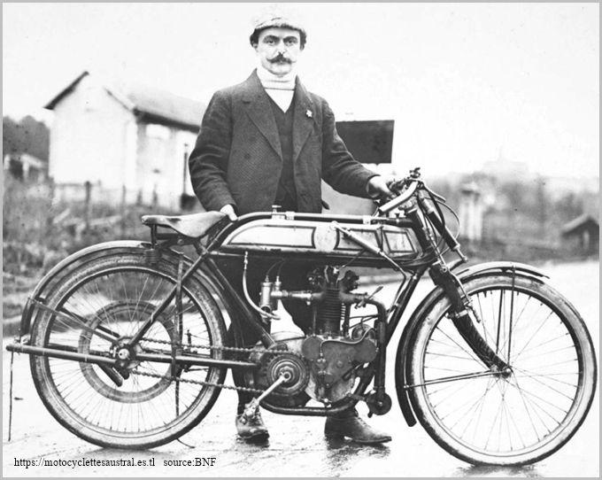 1912, Joseph Bernadou Dacier avec une Alcycon, Course de Côte de Gometz-le-Châtel