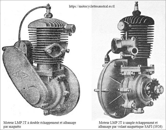 moteur LMP 2T