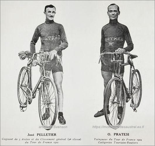 José Pelletier et Ottavio Pratesi
