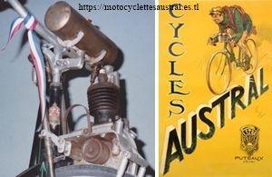 vélo Austral avec moteur auxiliaire Cyclotracteur