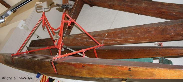La Nautilette Austral au Musée du Léman à Nyon