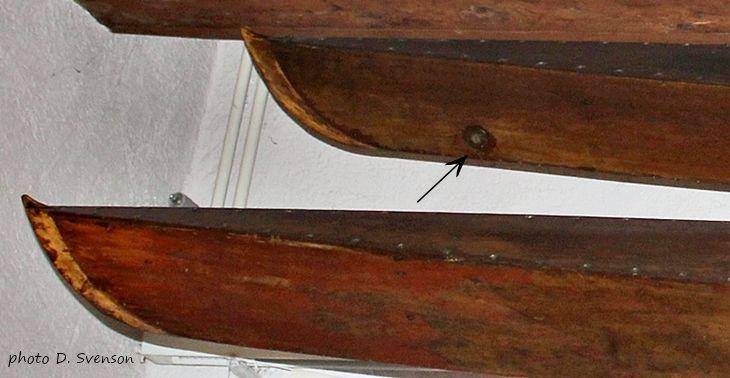 Nautilette, Musée du Léman, bouchon de vidange