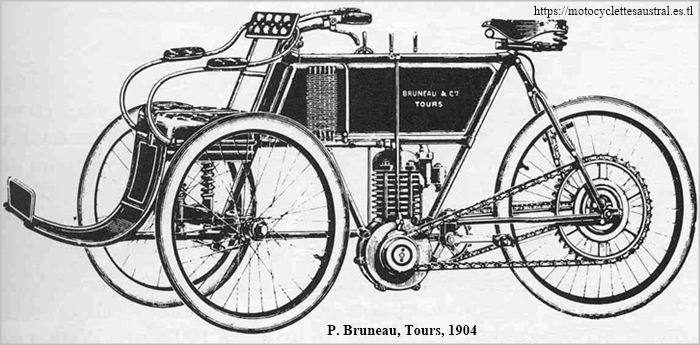 Paul Bruneau et Cie, Tours, tricar 1904