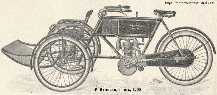 Paul Bruneau et Cie, Tours, tricar 1905