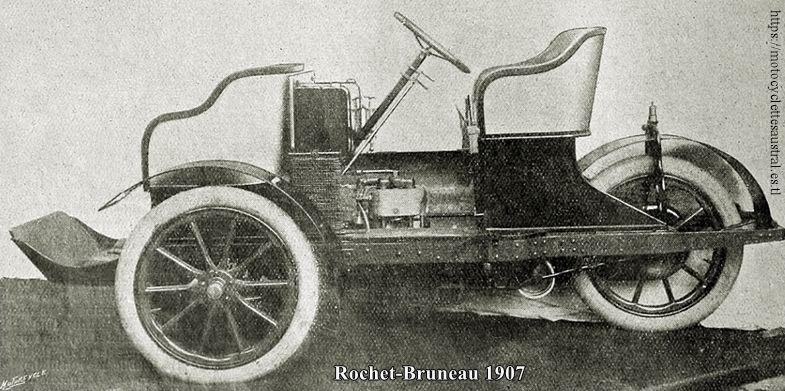 Paul Bruneau et Cie, Tours, trivoiturette 1907