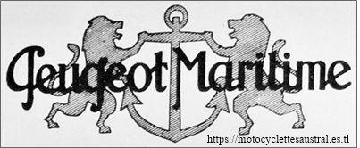 Peugeot Maritime, logo