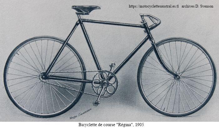 bicyclette de course Régina 1905