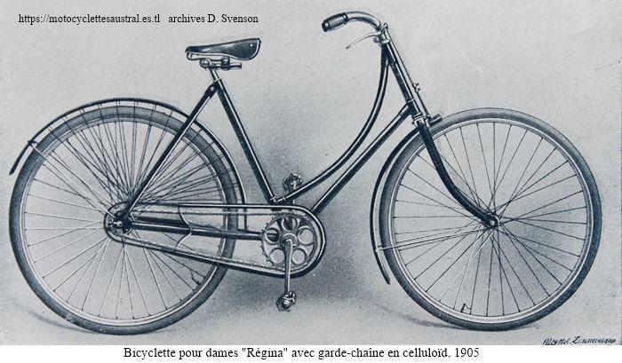 bicyclette dames Régina 1905