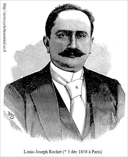Louis Joseph Rochet, portrait
