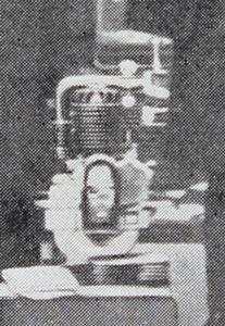 salon du cycle 1907, le moteur présenté sur le stand de la SIA
