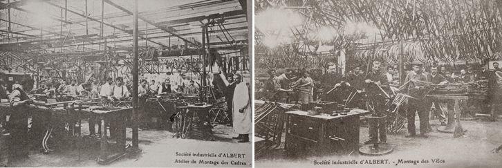 usine de la Société Industrielle d'Albert. ateliers