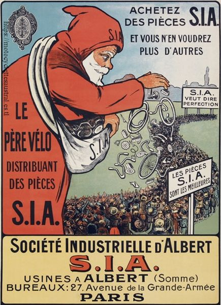 affiche SIA, le père vélo