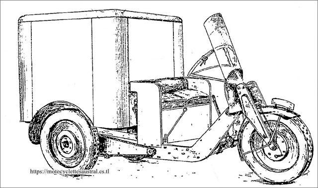 1930, détail du brevet d'invention, perfectionnements effectués sur la caisse en tôle, tricar type L