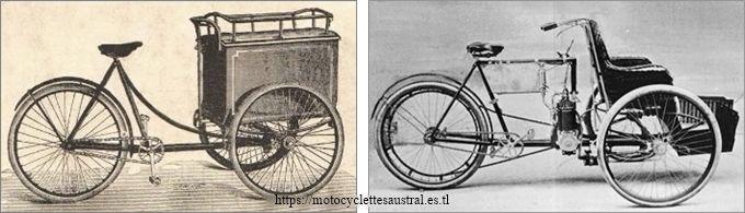 La Française, tricycle porteur et mototricycle